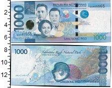 Изображение Банкноты Филиппины 1000 писо 2015  UNC