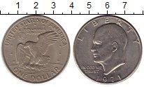 Изображение Монеты США 1 доллар 1971 Медно-никель XF