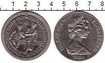 Изображение Монеты Великобритания Остров Мэн 1 крона 1984 Медно-никель XF