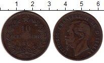 Изображение Монеты Италия 10 чентезимо 1866 Бронза VF