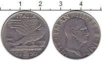 Изображение Монеты Италия 50 чентезимо 1940 Медно-никель VF