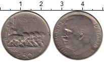 Изображение Монеты Италия 50 чентезимо 1920 Медно-никель VF