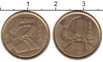 Изображение Монеты Испания 5 песет 1998 Латунь XF