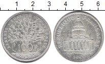Изображение Монеты Франция 100 франков 1988 Серебро XF
