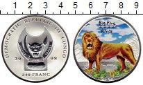 Изображение Монеты Конго 240 франков 2008 Серебро Proof