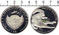 Монета Палау 5 долларов Серебро 2007 Proof-