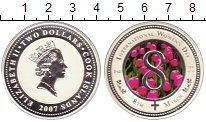 Изображение Монеты Новая Зеландия Ниуэ 2 доллара 2007 Серебро Proof
