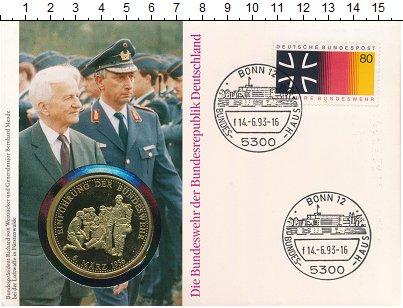 Изображение Подарочные монеты Германия Медаль 1989 Медно-никель UNC