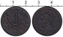 Изображение Монеты Богемия и Моравия 1 крона 1941 Цинк XF