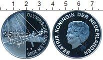 Изображение Монеты Нидерланды Аруба 25 флоринов 2000 Серебро Proof