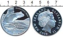 Изображение Монеты Новая Зеландия 5 долларов 2008 Серебро Proof