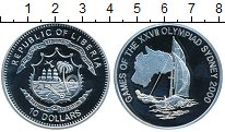 Изображение Монеты Либерия 10 долларов 2000 Серебро Proof