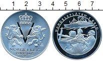 Норвегия Медаль Серебро Proof фото