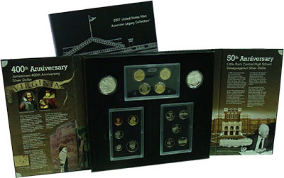 Изображение Подарочные монеты США Набор 2007 года 2007  Proof `Подарочный набор Pr