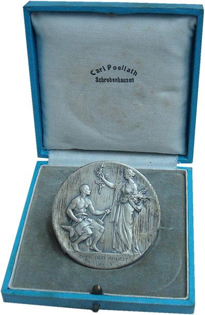 Изображение Подарочные монеты Бавария Медаль 0 Посеребрение UNC- Баварская производст