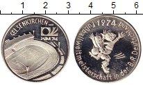 Монета ФРГ Жетон Серебро 1974 Proof- фото