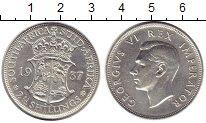 Изображение Монеты ЮАР 2 1/2 шиллинга 1937 Серебро XF