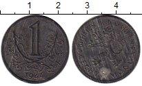 Изображение Монеты Богемия и Моравия 1 крона 1944 Цинк XF-