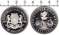 Изображение Монеты Сомали 150 шиллингов 2000 Серебро Proof