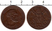 Изображение Монеты Ватикан 10 сентесим 1936 Бронза XF