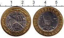 Изображение Монеты Сан-Марино 1000 лир 2000 Биметалл UNC