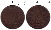 Изображение Монеты Ватикан 5 сентим 1934 Бронза XF