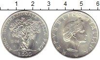 Изображение Монеты Италия 500 лир 1986 Серебро UNC-