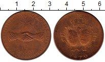Изображение Монеты Мальтийский орден 10 грани 1970 Бронза Proof-