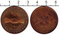 Изображение Монеты Мальтийский орден 10 грани 1969 Бронза Proof-