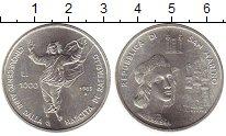 Изображение Монеты Сан-Марино 1000 лир 1983 Серебро UNC