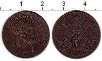 Изображение Монеты Ватикан 10 сентесим 1932 Бронза XF