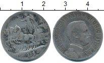 Изображение Монеты Италия 1 лира 1912 Серебро VF