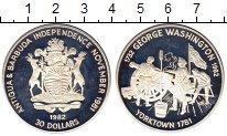 Изображение Монеты Антигуа и Барбуда 30 долларов 1982 Серебро Proof-