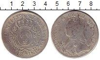 Изображение Монеты Франция 1 экю 1729 Серебро VF