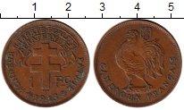 Изображение Монеты Камерун 1 франк 1943 Бронза XF