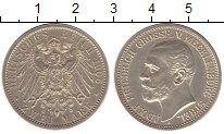 Изображение Монеты Мекленбург-Стрелитц 2 марки 1905 Серебро Proof-