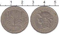 Изображение Монеты Гваделупа 1 франк 1903 Медно-никель XF-