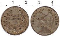 Изображение Монеты Чили 20 сентаво 1909 Серебро XF