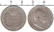 Изображение Монеты Великобритания Британская Гвиана 1 гульден 1836 Серебро VF
