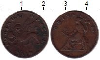 Изображение Монеты Греция Ионические острова 2 лепты 1819 Медь XF-