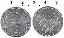 Изображение Монеты Мали 25 франков 1976 Алюминий UNC-