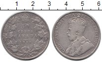 Изображение Монеты Канада 50 центов 1919 Серебро XF-