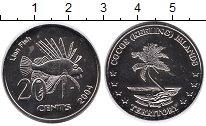 Изображение Мелочь Австралия Кокосовые острова 20 центов 2004 Медно-никель UNC-