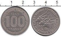 Изображение Монеты Франция Французская Экваториальная Африка 100 франков 1966 Медно-никель XF