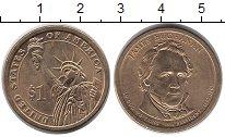 Изображение Монеты США 1 доллар 2010 Латунь XF