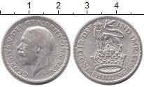 Изображение Монеты Великобритания 1 шиллинг 1933 Серебро XF-
