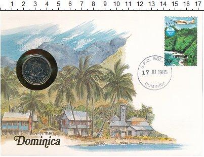 Изображение Монеты Карибы 25 центов 1981 Медно-никель UNC-