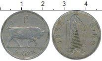 Изображение Монеты Ирландия 1 шиллинг 1966 Медно-никель XF