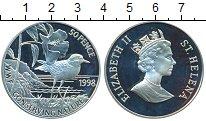 Изображение Монеты Великобритания Остров Святой Елены 50 пенсов 1998 Серебро Proof-