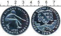 Изображение Монеты Босния и Герцеговина 750 динар 1996 Серебро Proof